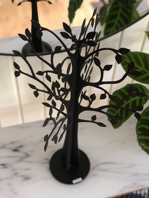Dekorationsträd X-Träd glest, 50 cm, svart, Lonneberg