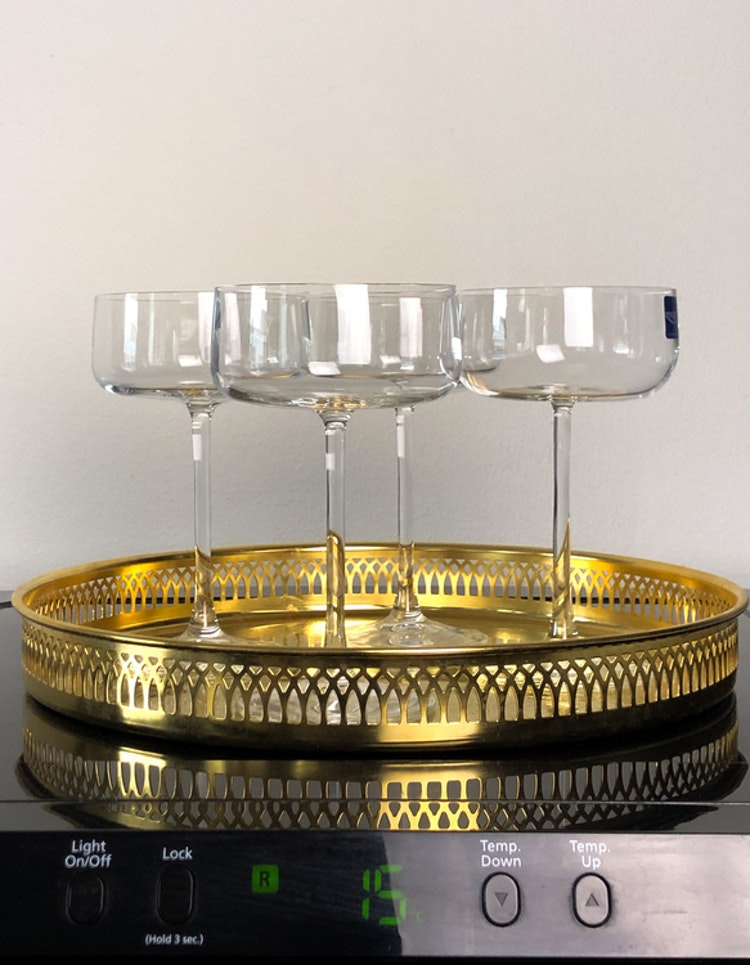 Champagneskål Krystal Zero 26 cl 4 st, Lyngby Glas
