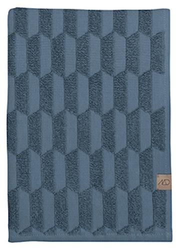 Gästhandduk GEO, 2-pack, 35x55 cm, slate blue, Mette Ditmer