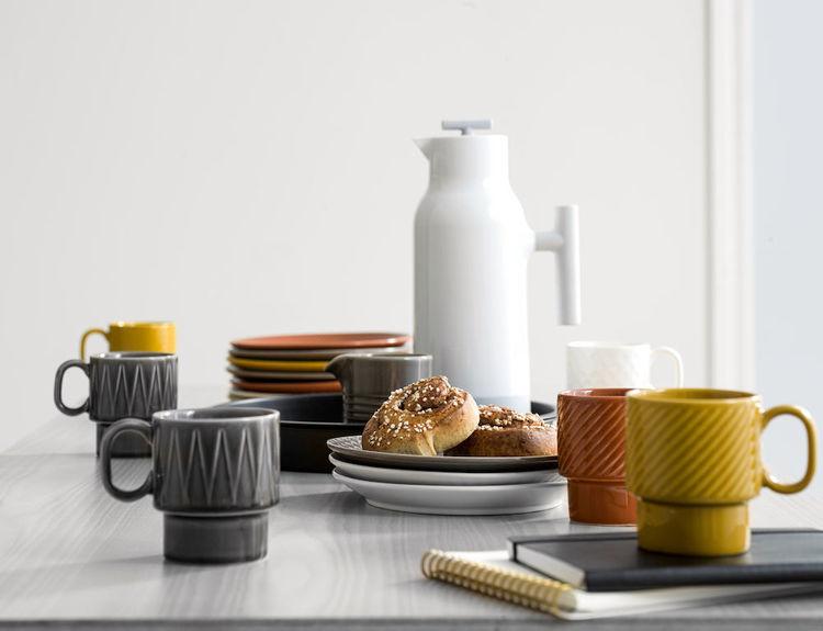 Coffee & More assiett 20 cm, vit, Sagaform