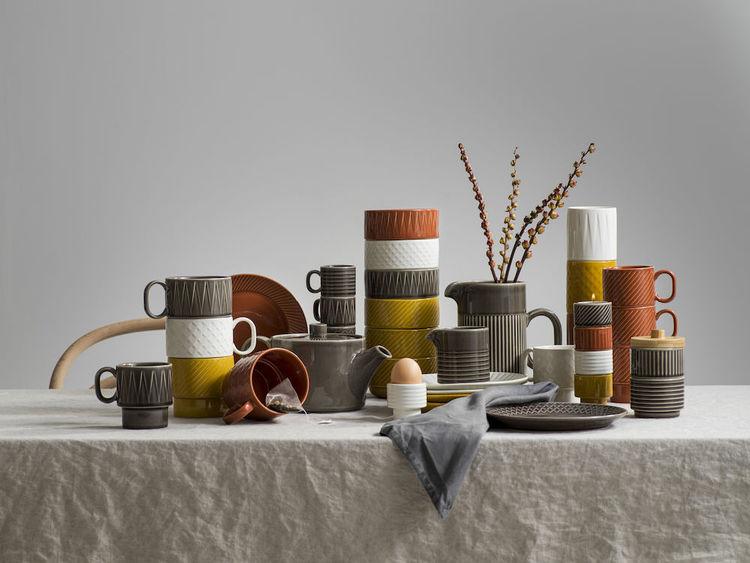 Coffee & More ljus/äggkopp, gul, Sagaform