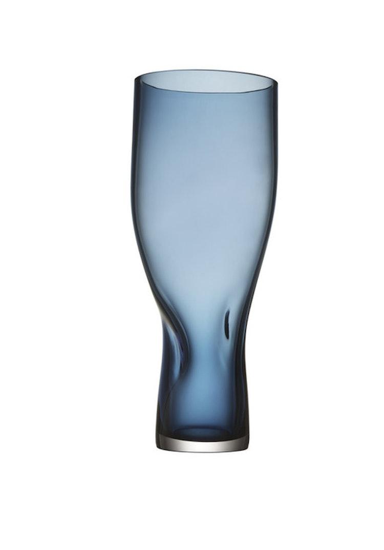 Vas Squeeze, blå, 34 cm, Orrefors