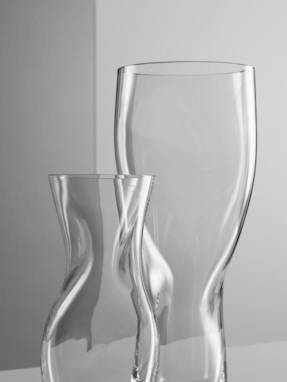 Vas Squeeze, klar, 34 cm, 23 cm, Orrefors