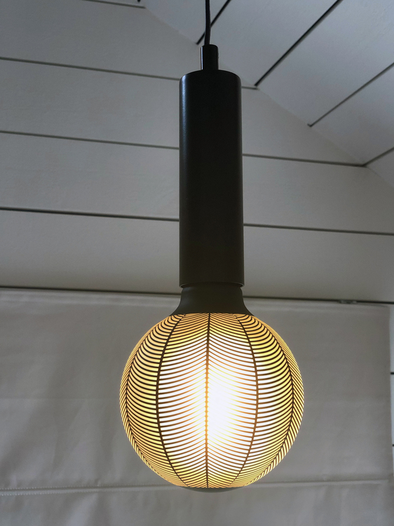 Pendel Glans, 15 cm, Graphic Pine, Star trading