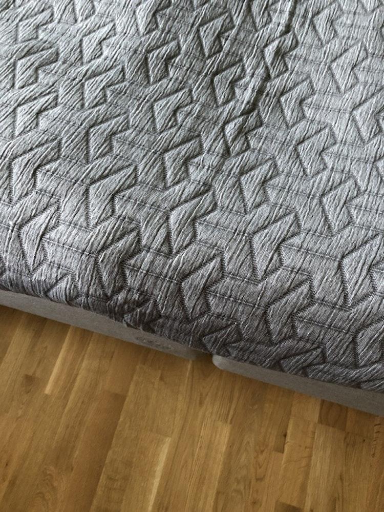 Överkast TRIO, 250x250 cm, dark grey, Mette Ditmer