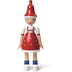 Kay Bojesen,  Jul-Lise, röd/blå/vit