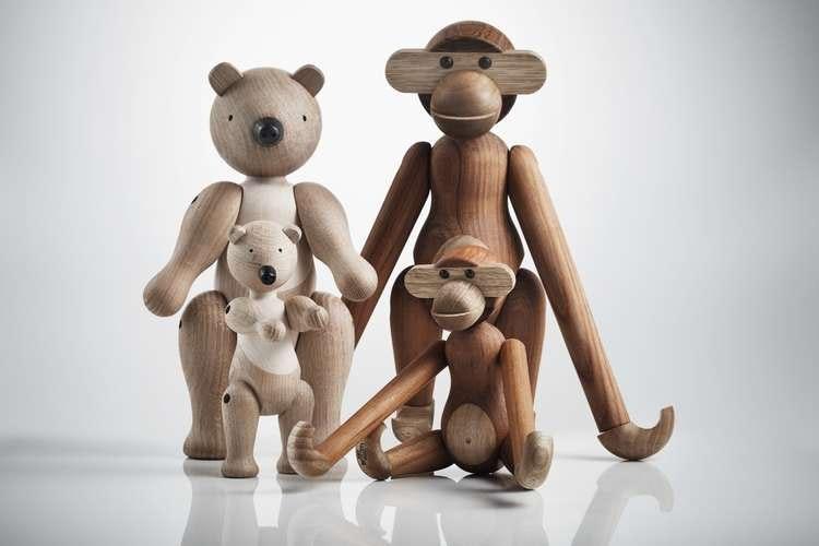 Kay Bojesen, björn liten och medium