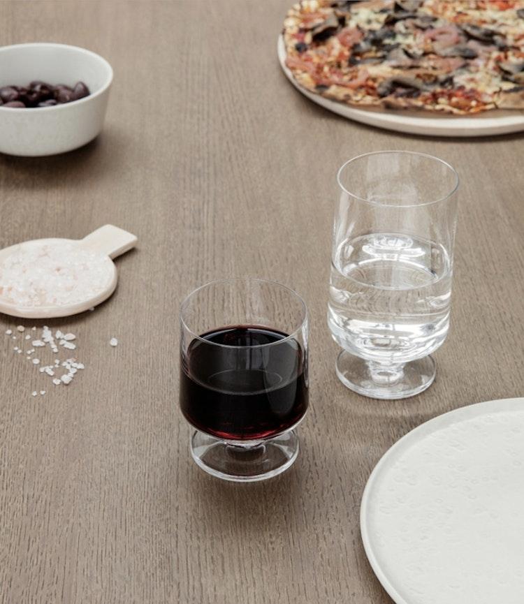 Glas Stub, 21 cl, 4-pack, Holmegaard, glas Stub, 36 cl, 2-pack, Holmegaard