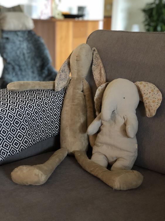 Elefant, Safari friends, medium, Maileg, mjuk kanin, brun, mega