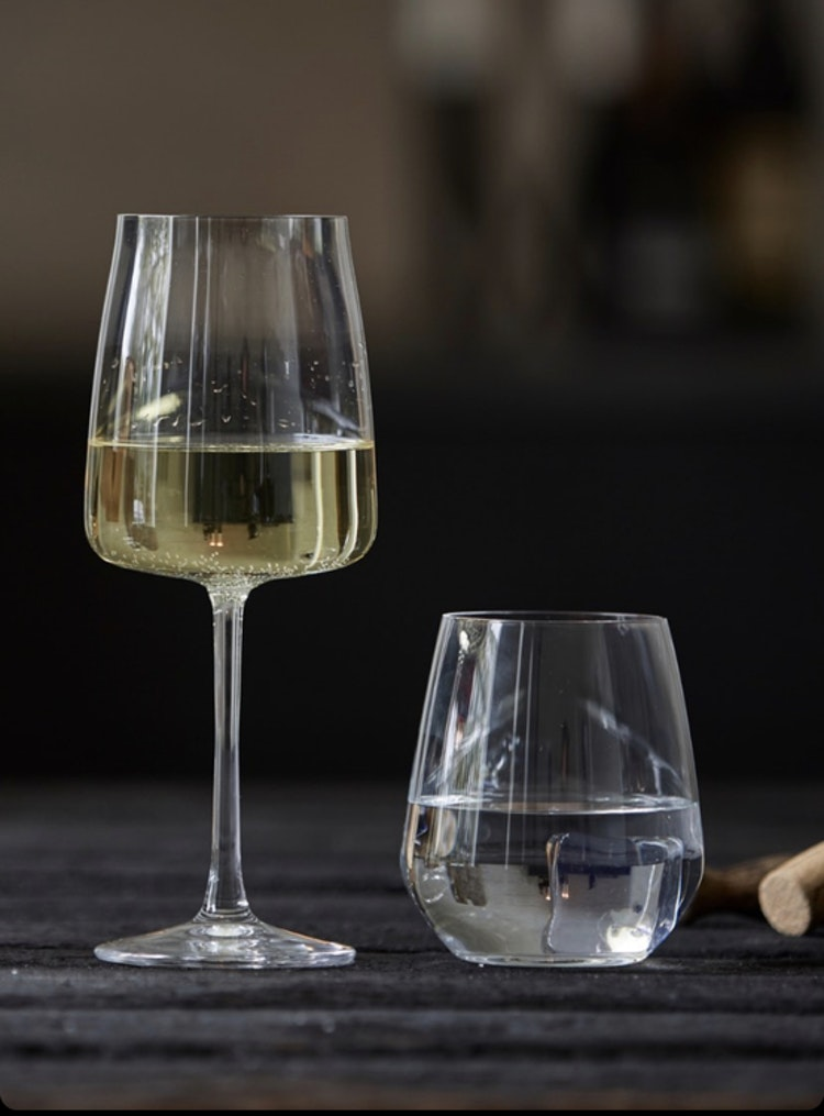 Tumbler Krystal Zero 41 cl 4 st, Lyngby Glas, vattenglas, whiskyglas, vitvinsglas