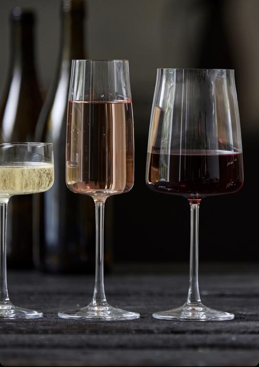 Champagneglas Krystal Zero 30 cl 4 st, Lyngby Glas, rödvinsglas