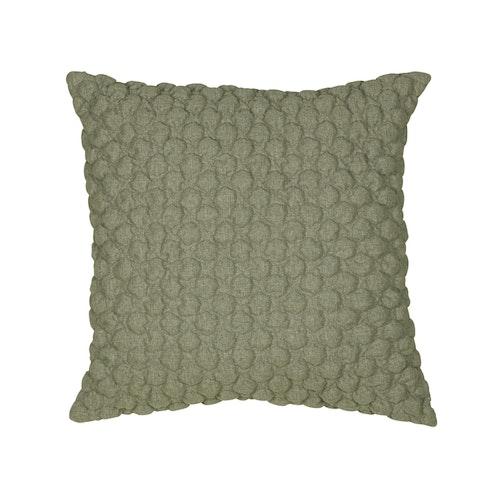 Kuddfodral Bubbel, grön