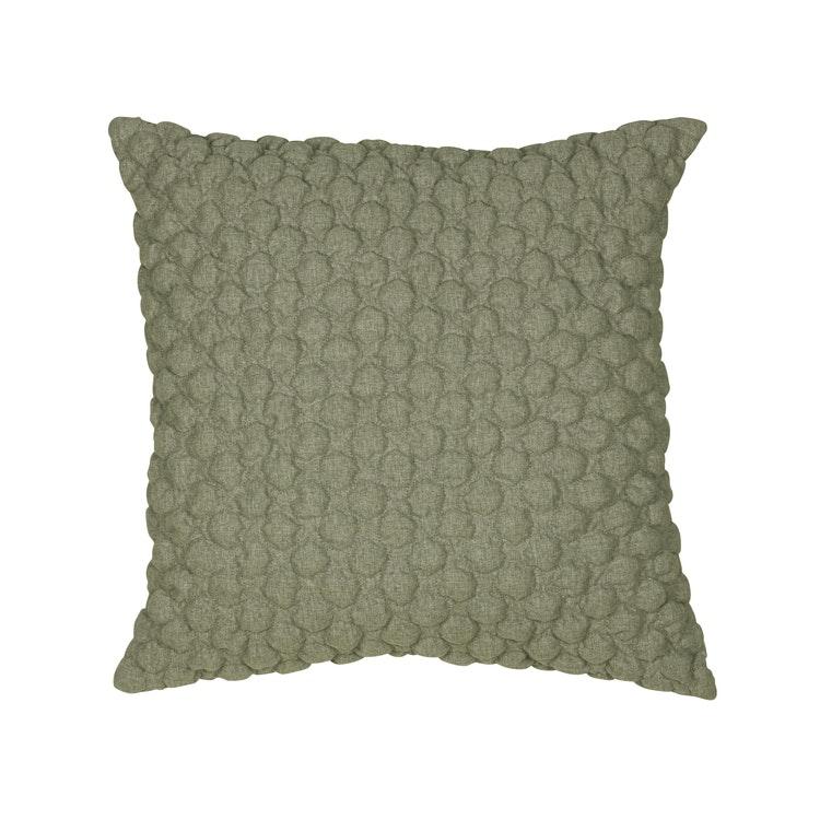 Kuddfodral Bubbel, grön, 50x50 cm