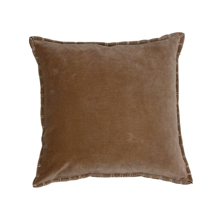 Kuddfodral Edward, brun, 45x45 cm
