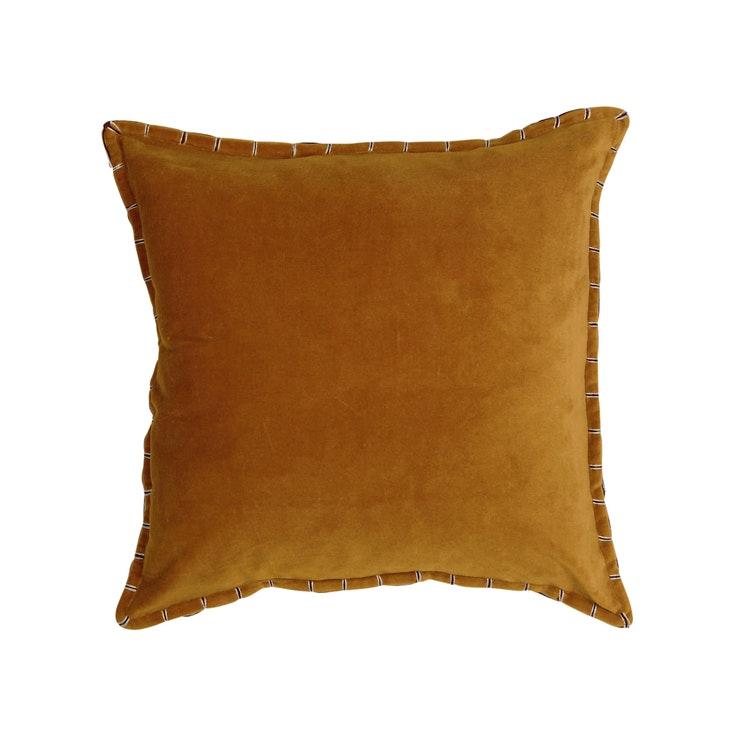 Kuddfodral Edward, saffran, 45x45 cm