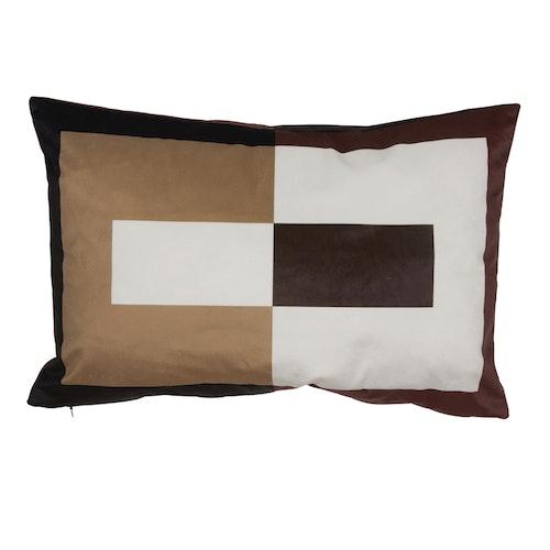 Kuddfodral Plaza, brun, 60x40 cm
