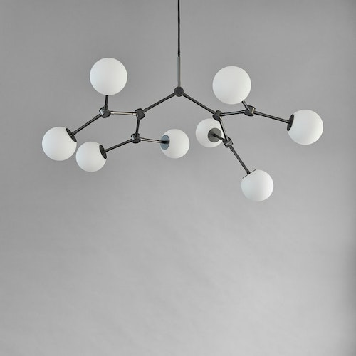 Taklampa Drop Chandelier Bulp, Mini - Grey, 101 Copenhagen