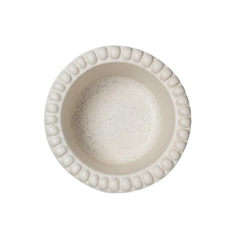 Daria skål, 12 cm, cotton white, PotteryJo