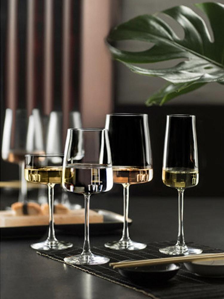 Champagneglas Krystal Zero 30 cl 4 st, Lyngby Glas