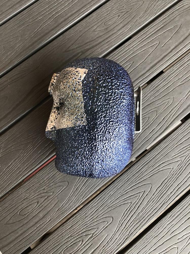 Skulptur/väggdekoration Brains Look In, Kosta Boda