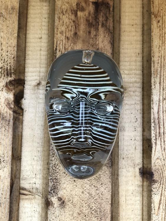 Skulptur/väggdekoration Brains Look, Kosta Boda