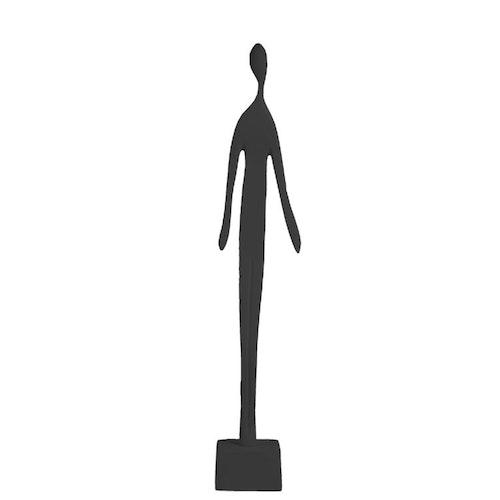 Skulptur man, svart, Storefactory