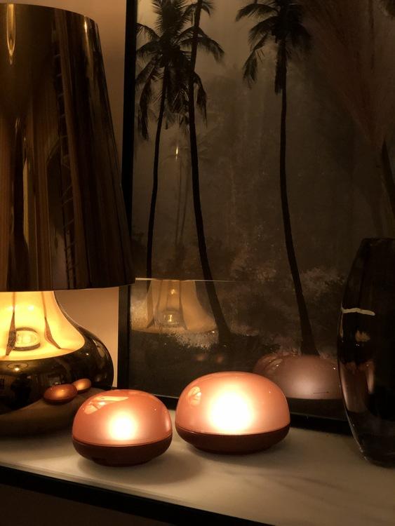 Ledampa Soft Spot LED, 11 cm, amber, Rosendahl