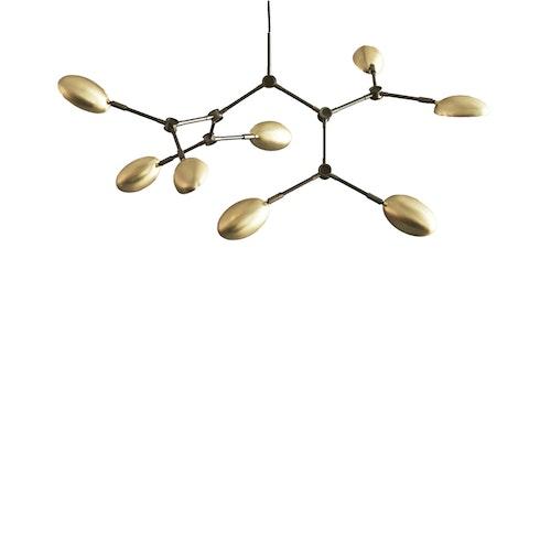 Taklampa Drop Chandelier - Mini, Brass, 101 Copenhagen
