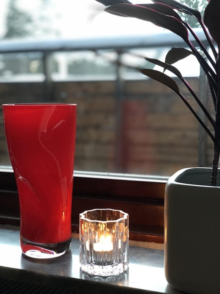 Ljuslykta Fris, Skrufs Glasbruk