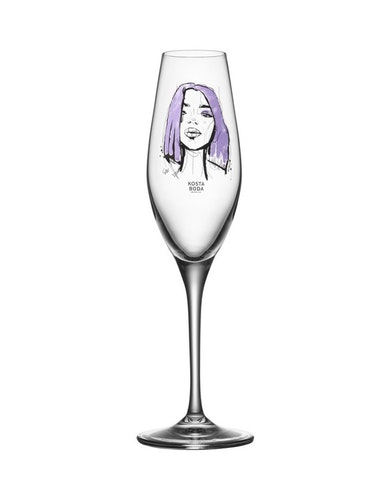 Champagneglas All about you forever mine, 2-pack, Kosta Boda