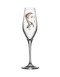 Champagneglas All about you forever yours, 2-pack, Kosta Boda