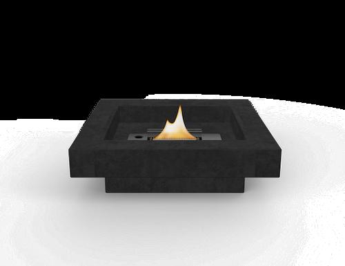 Eldstad Aria 180, svart, Tenderflame