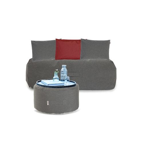 Cozy Set, utemöbel, grey, Trimm Copenhagen