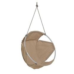 Cocoon hängstol, utemöbel, taupe, Trimm Copenhagen