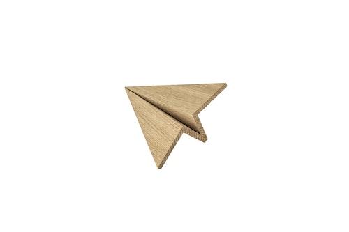 Träfigur Maverick Oak Small, flygplan, boyhood