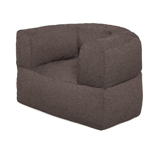 Fåtölj Arm strong chair, brown wool, Trimm Copenhagen