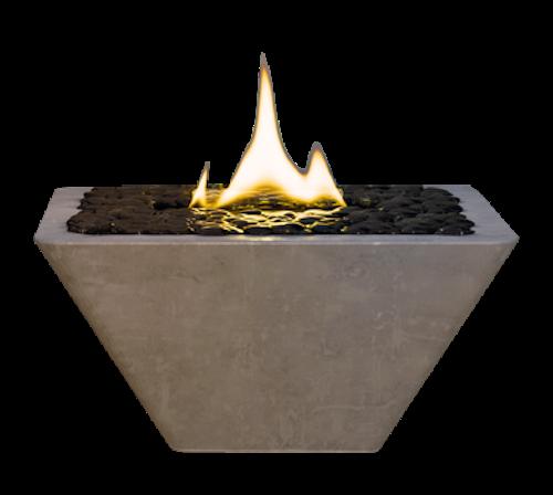 Eldstad Hibiscus 33 Concrete MgO, Tenderflame