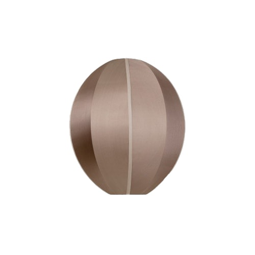 Taklampa Indochina oval, rosebrown,  siden, Oi Soi Oi