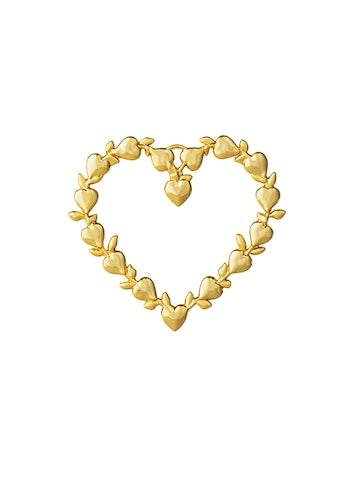 Hänge Leaf Heart, förgylld, Rosendahl, Karen Blixen