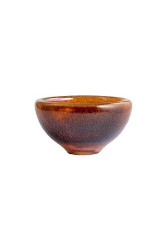 Skål Beans, golden brown, Kosta Boda