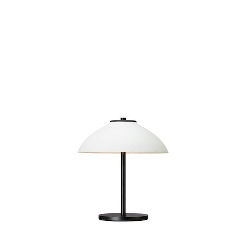 Bordslampa Vali, svart/vit, Belid