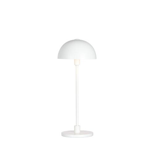 Bordslampa Vienda mini, vit, Herstal
