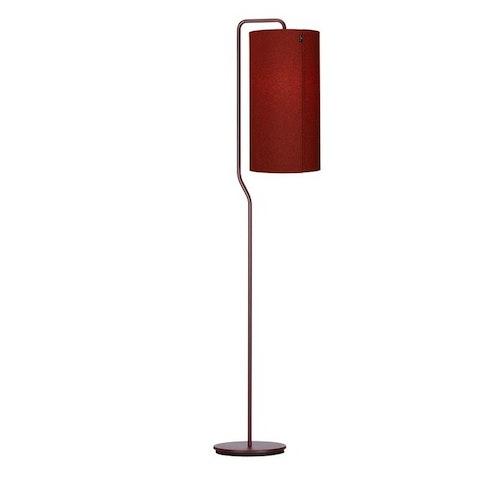 Golvlampa Pensile dark red, flera färgvarianter, Belid