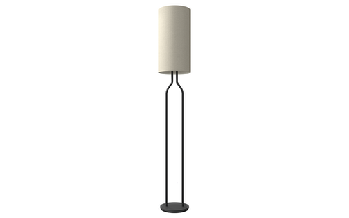 Golvlampa Bottle svartstruktur, flera färgvarianter, Belid