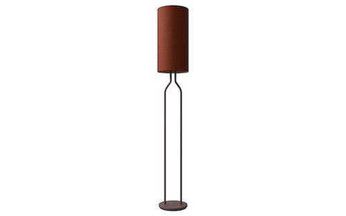 Golvlampa Bottle dark red, flera färgvarianter, Belid