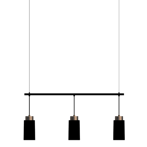 Pendel Edge Trio, svart, Herstal