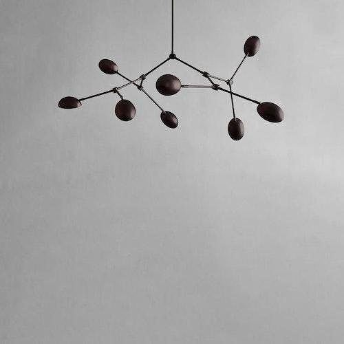 Taklampa Drop Chandelier - Mini, Burned Black, 101 Copenhagen