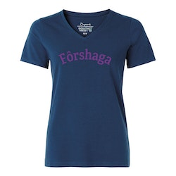 Forshaga blå v-ringad Fairtrade