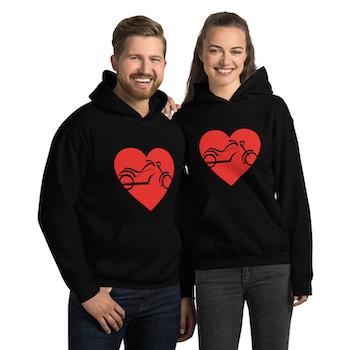 Hjärta MC hoodie