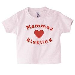 Baby t-shirt Mammas älskling